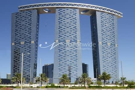 شقة 3 غرف نوم للايجار في جزيرة الريم، أبوظبي - Breathtaking Fully Furnished Unit In Gate Tower