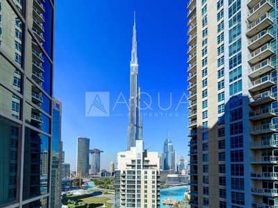 3 Bedroom Apartment for Rent in Downtown Dubai, Dubai - Stunning Fountain & Khalifa Views | Upgraded
