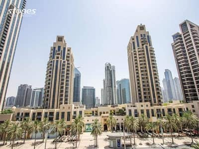 3 Bedroom Apartment for Rent in Downtown Dubai, Dubai - Modernly Fitted Duplex | Views of the Community