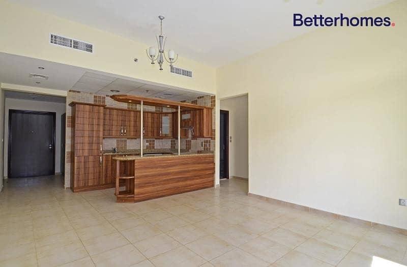 Unfurnished  Balcony   Open plan Kitchen