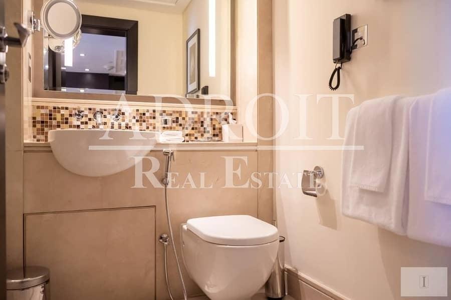2 Luxurious Studio Hotel Apartment in Burj Lake Hotel - The Address Downtown!