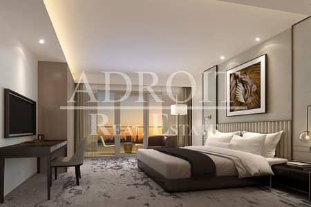 شقة فندقية  للايجار في وسط مدينة دبي، دبي - Luxurious Studio Hotel Apartment in Burj Lake Hotel - The Address Downtown!