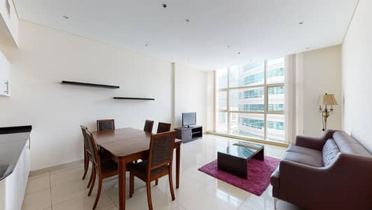 2 Bedroom Apartment for Rent in Dubai Marina, Dubai - Kitchen appliances | Shared pool | Rent online