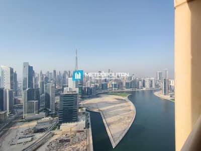 2 Bedroom Apartment for Rent in Business Bay, Dubai - Upgraded I High Floor I Fully Furnished I 2 + Maid