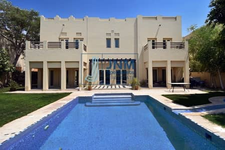 5 Bedroom Villa for Rent in The Meadows, Dubai - 5 Beds + Family + Maid | Type L1| lake view