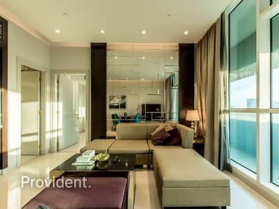 فلیٹ 3 غرف نوم للايجار في وسط مدينة دبي، دبي - Fabulous 3 BR on High Floor | Serviced Apartment