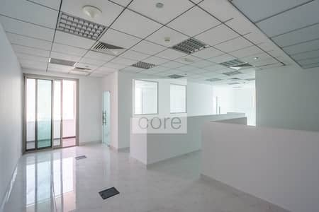 Office for Rent in Business Bay, Dubai - Fitted and Partitioned Office | High Floor