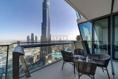 3 Bedroom Apartment for Rent in Downtown Dubai, Dubai - MULTIPLE OPTIONS/ FULLY  FURNISHED/ BEST VIEW