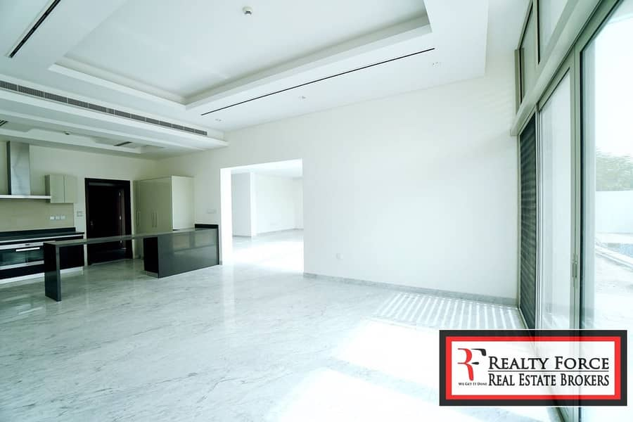 2 LANDSCAPED|VACANT ON TRANSFER|4BR CONT| BURJ VIEW