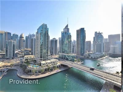 1 Bedroom Flat for Rent in Dubai Marina, Dubai - Exclusive and Managed | Marina View | Chiller Free
