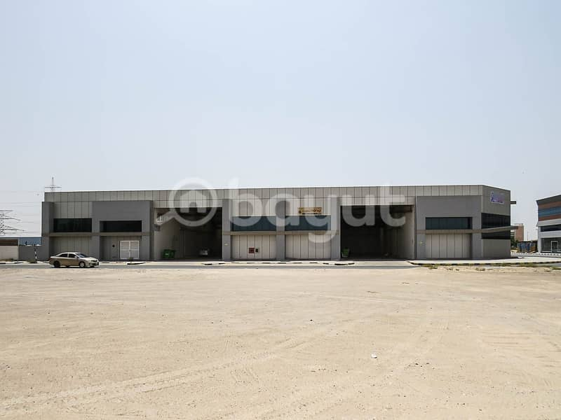 HIGH QUALITY WAREHOUSE AVAILABLE FOR RENT IN INDUSTRIAL AREA 18. ONE MONTH FREE