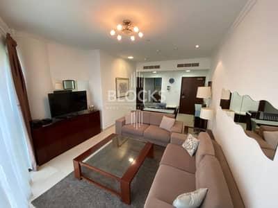 فلیٹ 1 غرفة نوم للايجار في أبراج بحيرات الجميرا، دبي - Fully Furnished 1 BHK for rent in JLT !!