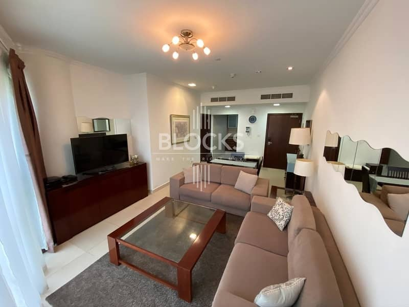 Fully Furnished 1 BHK for rent in JLT !!