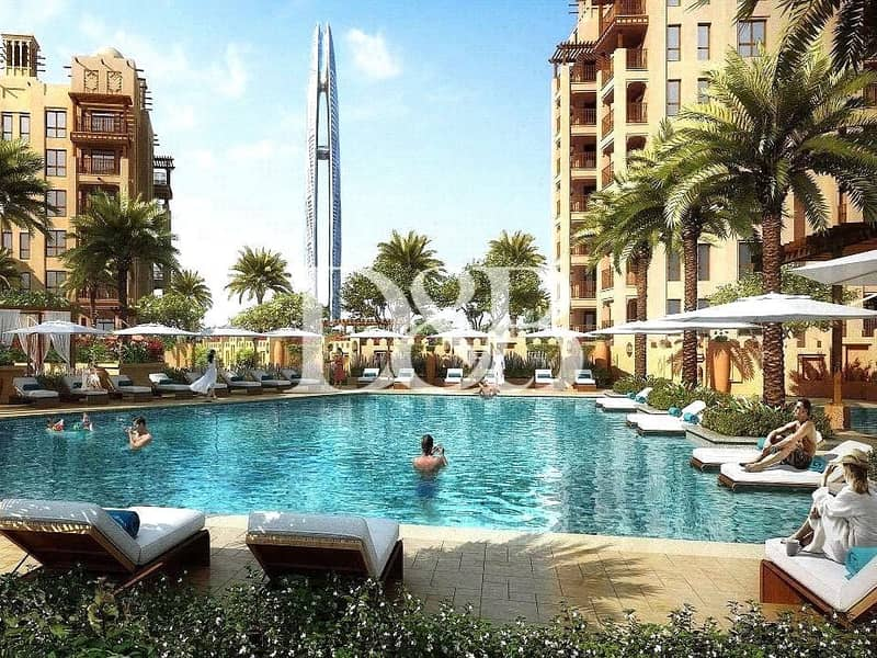 2 Burj Al Arab View | Freehold in Jumeirah Beach