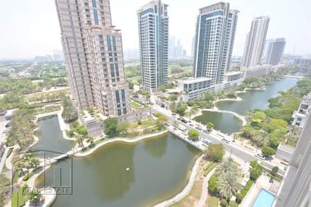 فلیٹ 2 غرفة نوم للبيع في ذا فيوز، دبي - Owner Occupied Full Lake View Perfect Condition