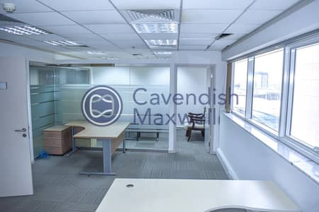 Office for Rent in Sheikh Zayed Road, Dubai - Fully Fitted Office | Next to Metro Station