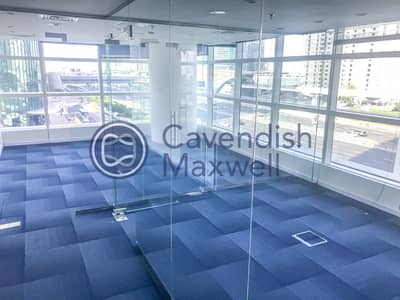 Office for Rent in Sheikh Zayed Road, Dubai - Fitted Office | Glass Partitioned | Vacant