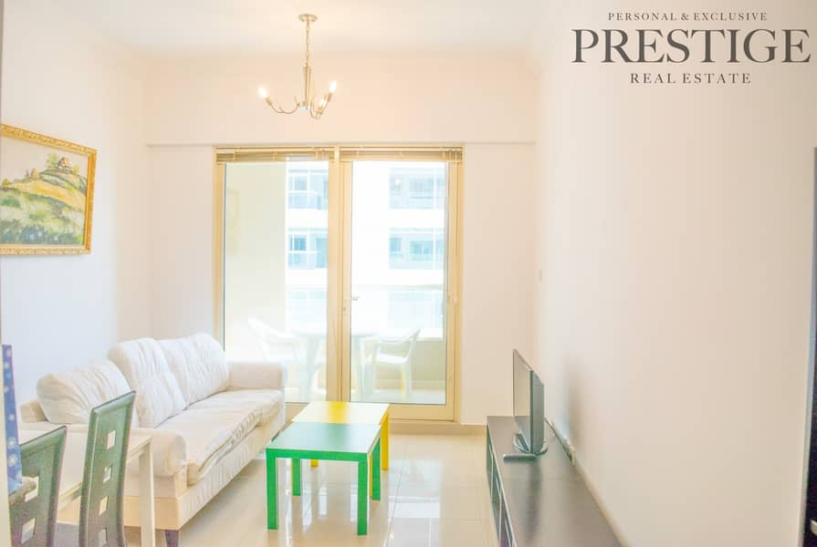 2 1 Bed | Furnished | Mid Floor | Furnished