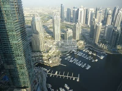 3 Bedroom Apartment for Rent in Dubai Marina, Dubai - Perfectly Located 3 BR on High Floor | Cayan Tower