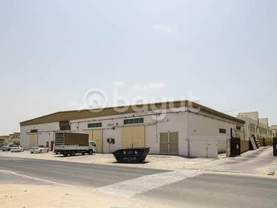 مبنی تجاري  للبيع في الجرف، عجمان - 12 WARE HOUSE AND LABOUR CAMP