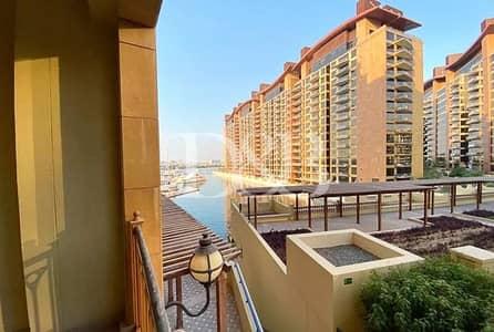فلیٹ 2 غرفة نوم للايجار في نخلة جميرا، دبي - Vacant Now | Marina  and Sea View | Garden+Pool