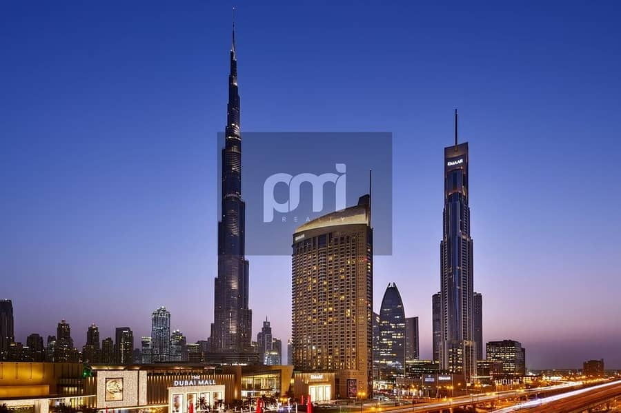 5- Star Furnished | Balcony with Community View | Direct access to Dubai Mall