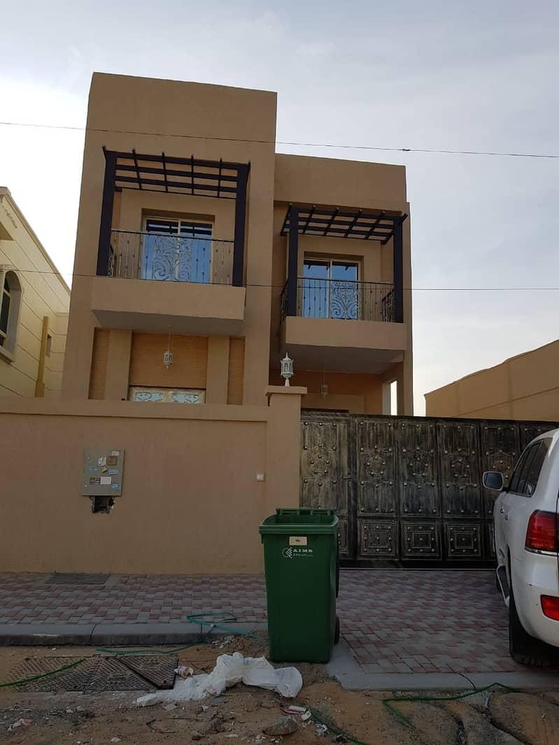 New villa for sale in Ajman - Al Mwaihat