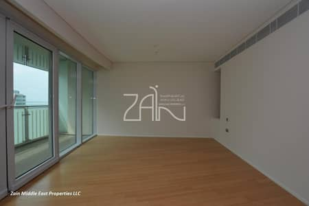 شقة 3 غرف نوم للايجار في شاطئ الراحة، أبوظبي - Partial Sea View Large 3+M Apt with Beach Access