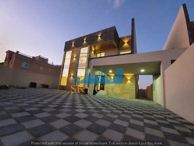 فیلا 5 غرف نوم للبيع في الروضة، عجمان - فيلا تصميم مودرن موقع متميز منطقة خدمات  كامله بسعر مغري