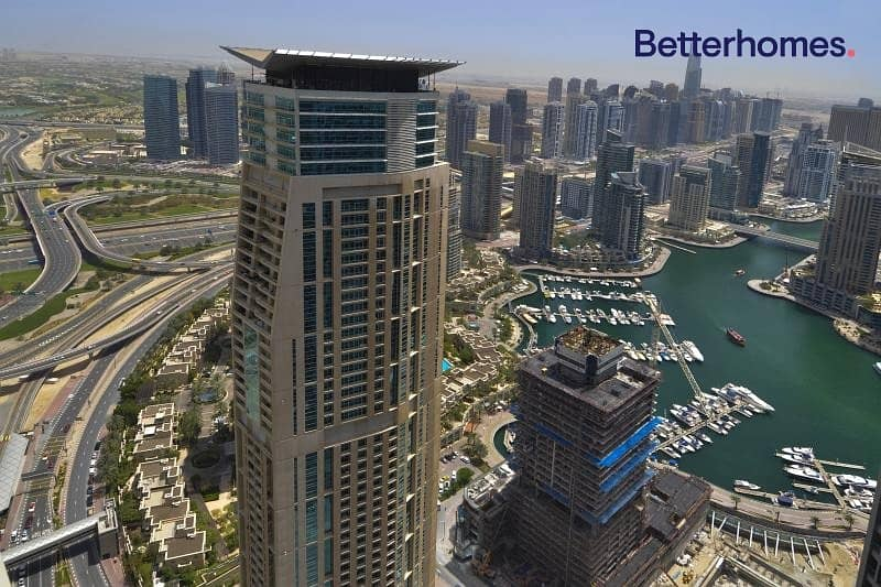 15 Higher Floor | Vacant | Unfurnished | Marina View