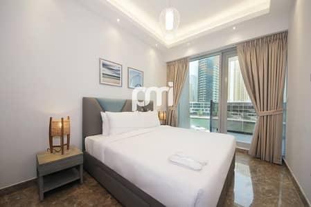 شقة 1 غرفة نوم للايجار في دبي مارينا، دبي - New | Furnished | Waterfront View