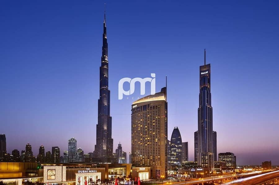 2 5- Star Furnished | Balcony with Community View | Direct access to Dubai Mall