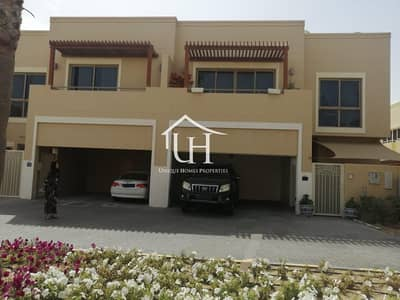 4 Bedroom Townhouse for Sale in Al Raha Gardens, Abu Dhabi - Hot Deal Ready to Move In - Single Row 4 bedroom+Maid
