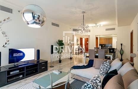 شقة 2 غرفة نوم للايجار في نخلة جميرا، دبي - Spacious 2 Bed Apartment