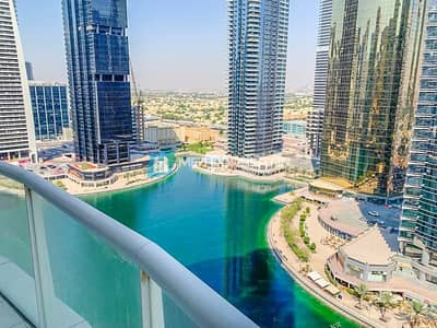 2 Bedroom Flat for Rent in Jumeirah Lake Towers (JLT), Dubai - Bright Layout Kitchen Equipped Behind Metro Stn.