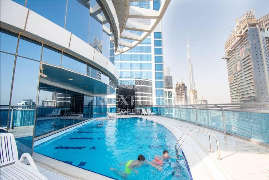 Chiller & Maintenance FREE | Burj Khalifa View | Multiple Options
