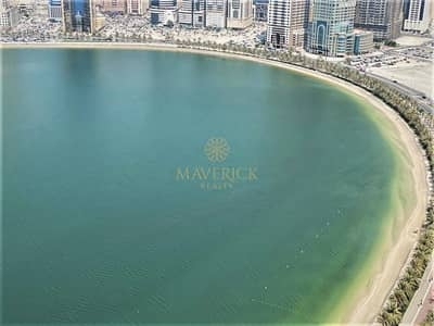 2 Bedroom Flat for Rent in Al Mamzar, Sharjah - Sea View | Lavish 2BHK+Balcony | Lowest Price