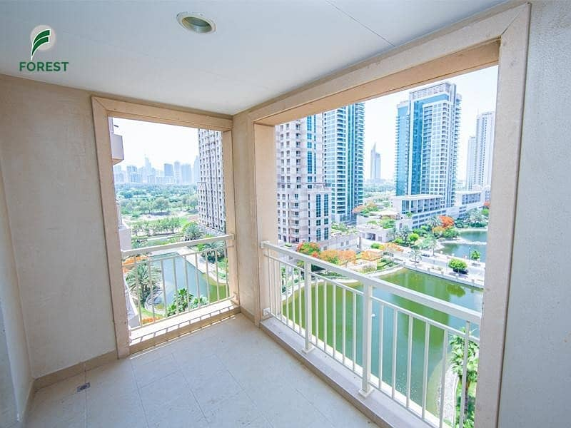 10 Full Lake View| 2 Beds | For Rent In Mosela Tower