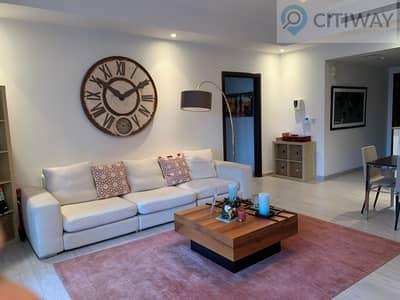 شقة 2 غرفة نوم للايجار في ذا فيوز، دبي - 2 BR Unfurnished | with Balcony in a Green Community