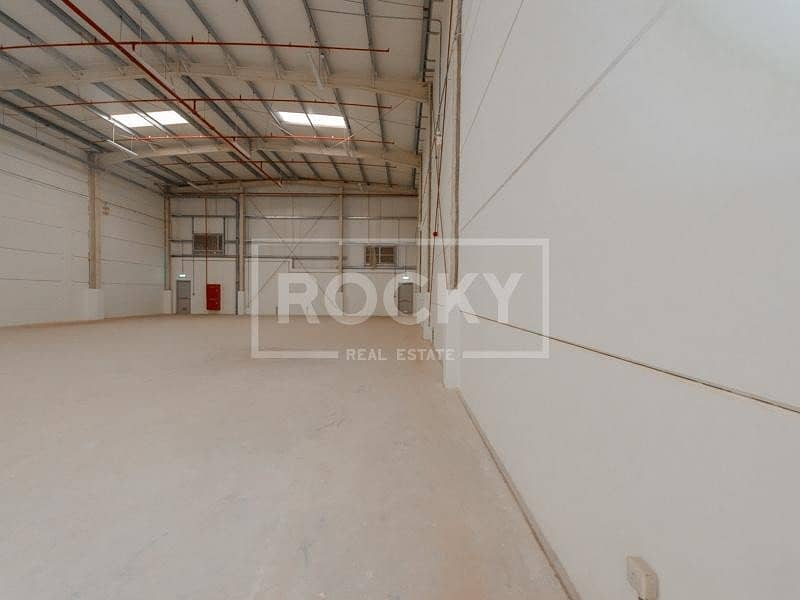 18 Cluster Warehouse | RENT | DIC | No Tax