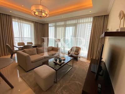 شقة 2 غرفة نوم للايجار في وسط مدينة دبي، دبي - Burj View   Fully Furnished   Fully Serviced Apt