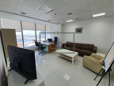 Office for Sale in Business Bay, Dubai - Furnished Office | North East Facing | A-grade