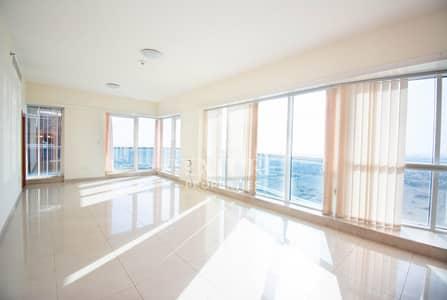 شقة 3 غرف نوم للايجار في الخليج التجاري، دبي - Sea View | High Floor | Chiller & Maintenance Free