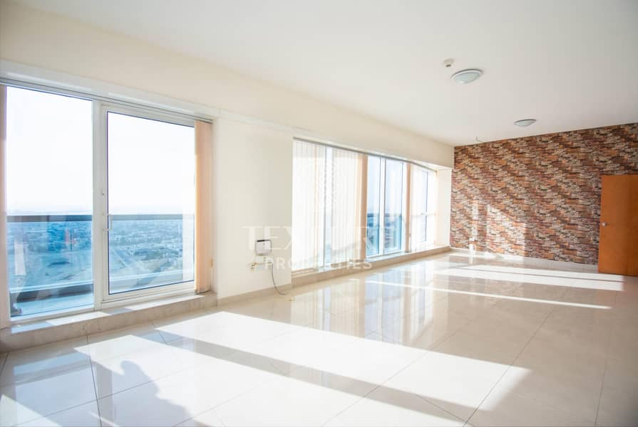 2 Sea View | High Floor | Chiller & Maintenance Free