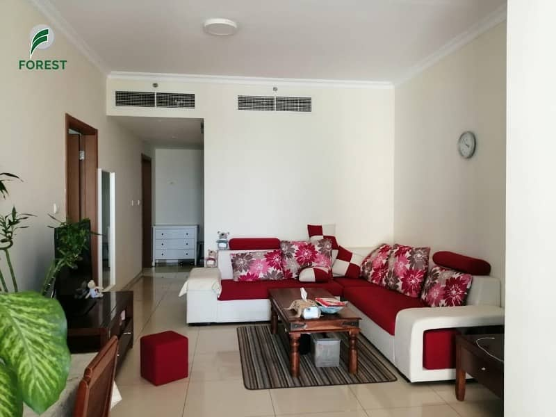 2 Spacious Layout | 1 Bed |Fully Furnished| Vacant