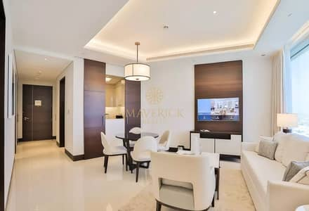 1 Bedroom Apartment for Rent in Downtown Dubai, Dubai - All Inclusive | Furnished 1BR+Study | Vacant