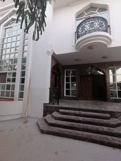 Spacious 3 BHK double story villa with all master bedroom with attached bathroom, huge majlis with living dining