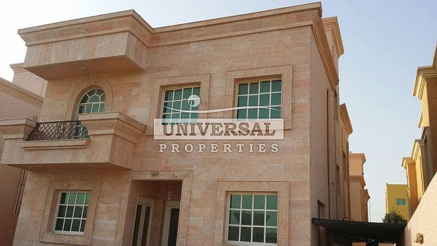 New 6 Bedroom Villa for Rent in Al Zahra Behind Hamidiya Police Station Ajman