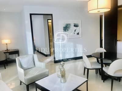 شقة 1 غرفة نوم للايجار في وسط مدينة دبي، دبي - Luxury Furnished |Sea View | All Inclusi