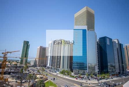 مکتب  للايجار في الخالدية، أبوظبي - New Office in Unique Building near Corniche st.
